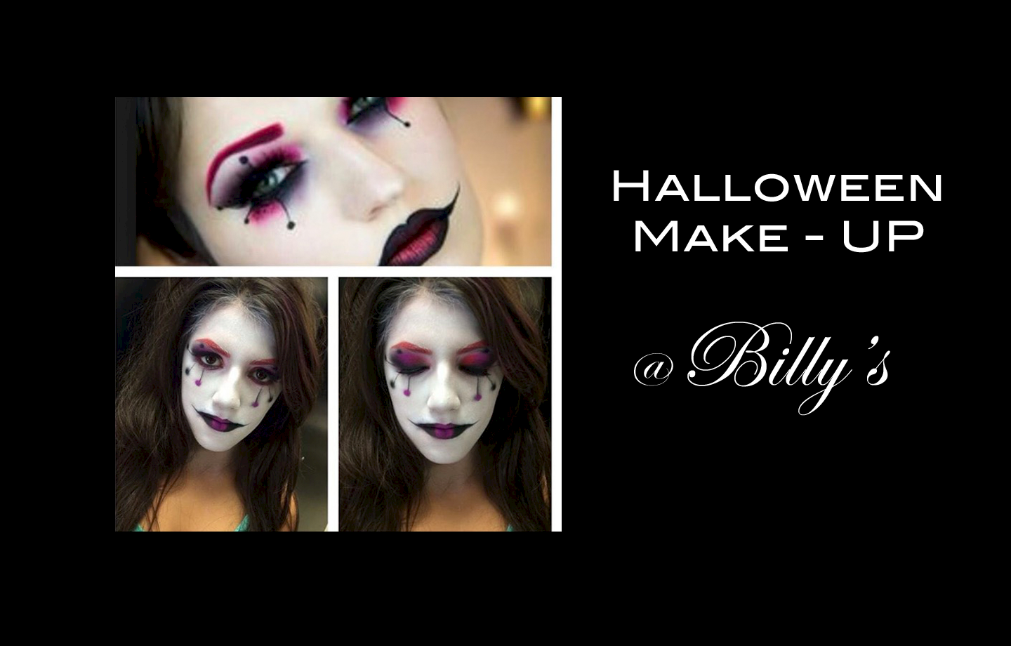 Halloween Make-Up at Billy's image