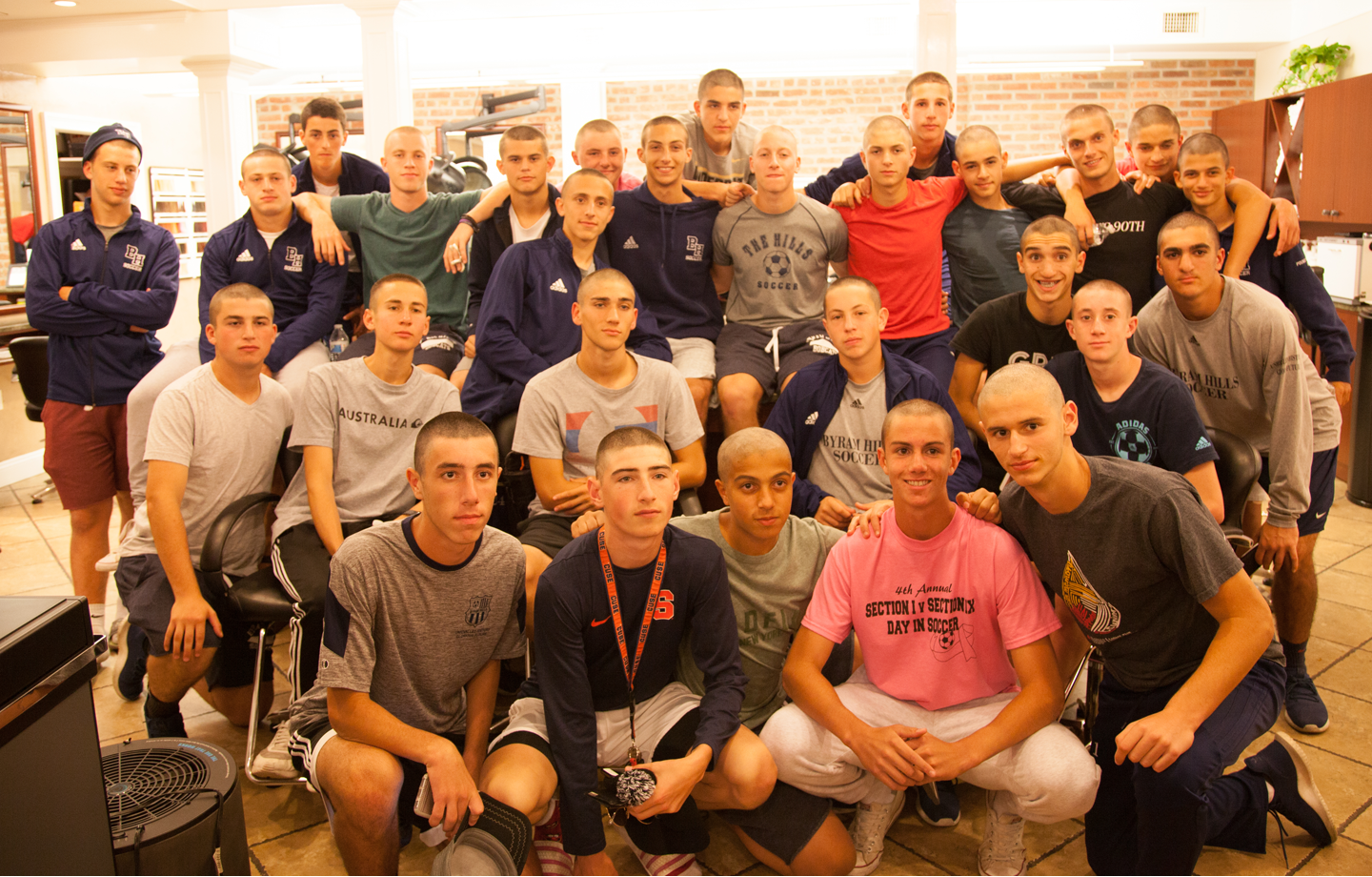 Buzz Cuts for The Bobcats! image
